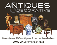 Antiques and Decorative is a website listing dealers from all over Europe.